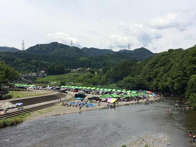 秋川橋河川公園1