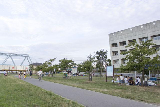 妙典河川敷1