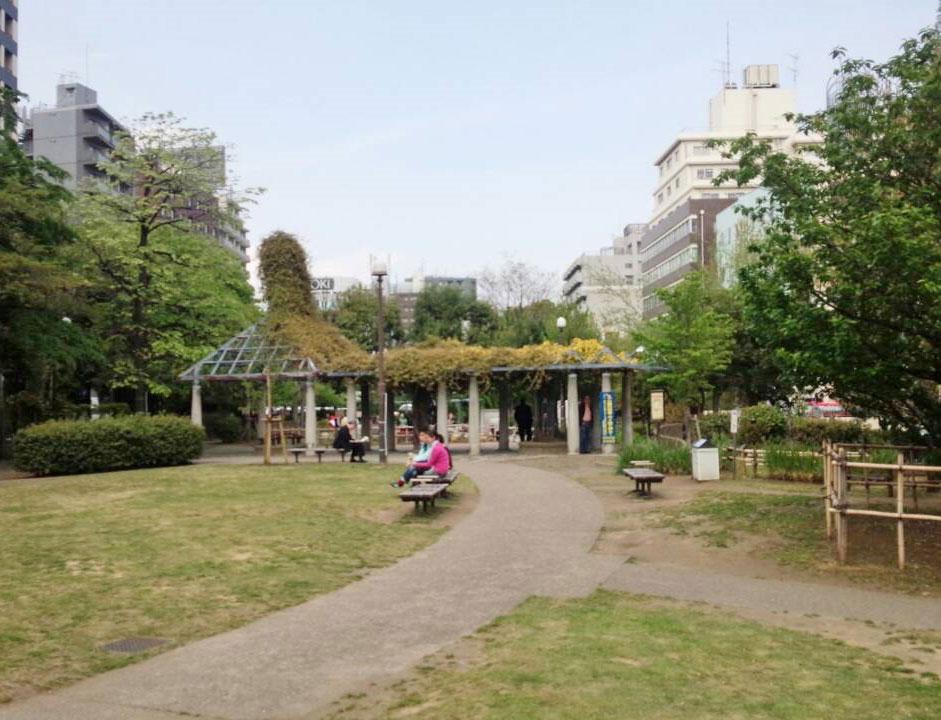 築地川公園2